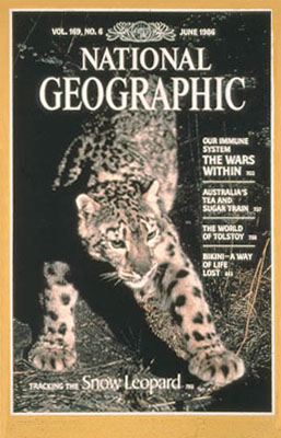 National Geographic snow leopard cover