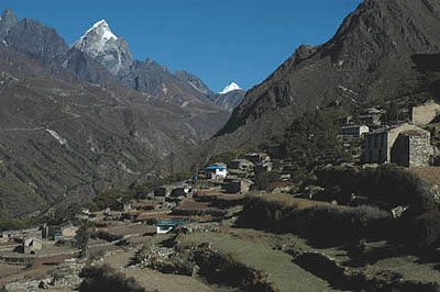 the Nepali village of Phortse