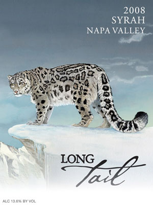 Long Tail Wine label