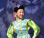 link to video of Mongolian girl singing and dancing