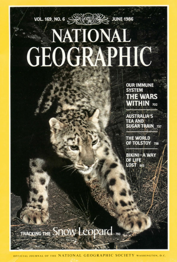 cover of June, 1986 National Geographic