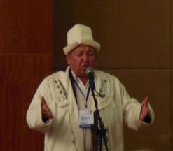 Zhaparkul speaking