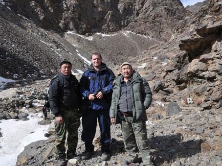 Jan in Mongolia