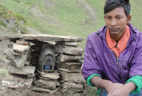 Ramesh Sunar by camera trap