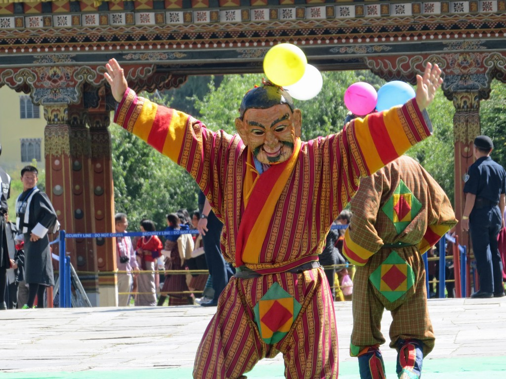 clown at festival