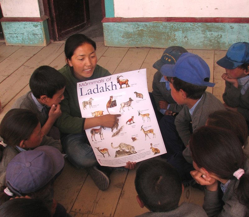 India Teaching Conservation
